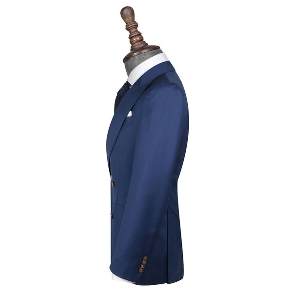 InStitchu Collection The De Rossi Navy Blue Wool Jacket