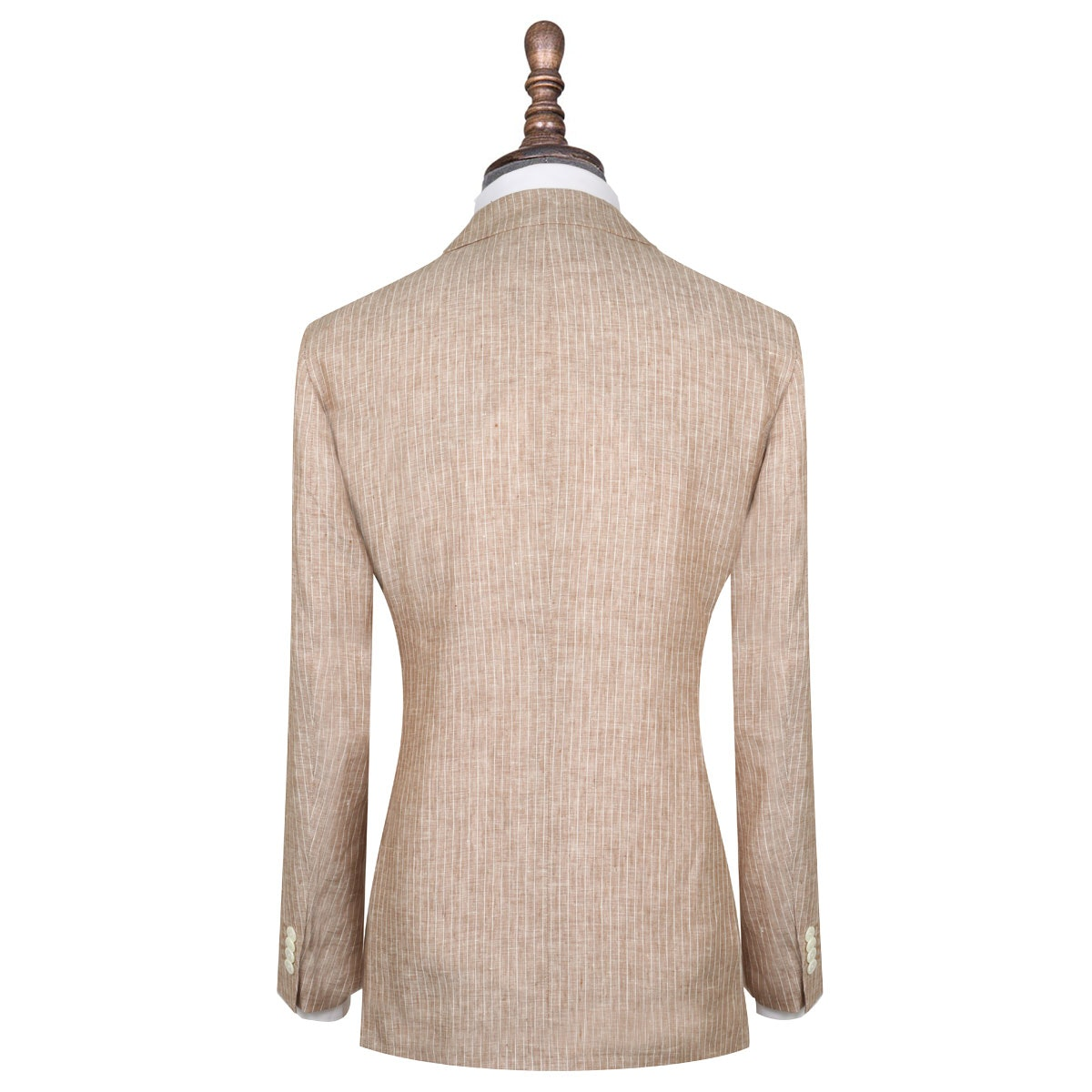 InStitchu Collection The Gatsby Beige Linen Jacket