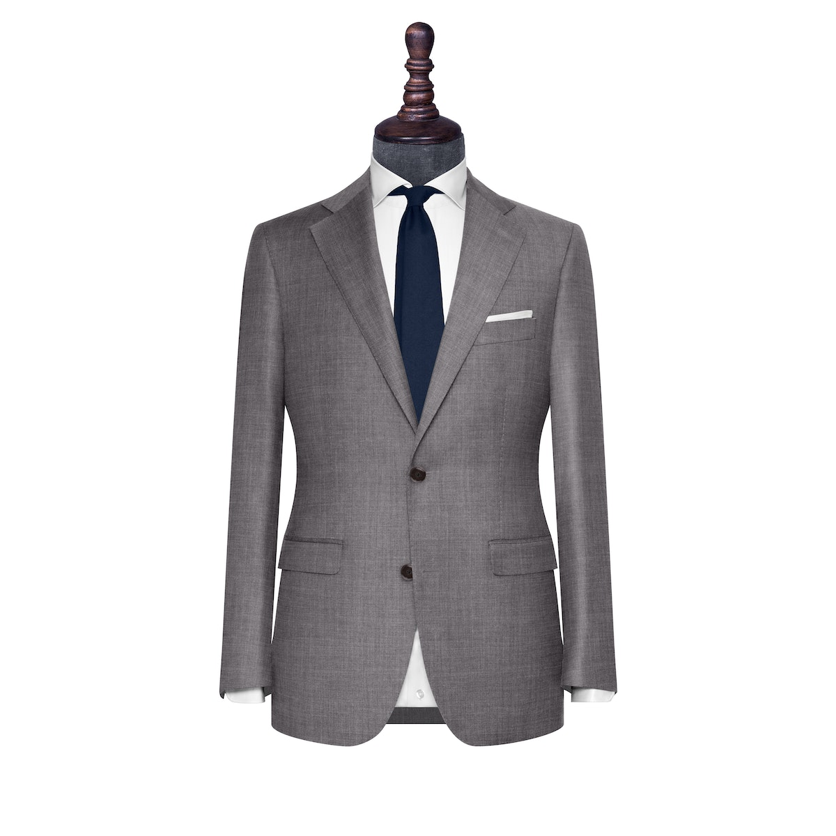 InStitchu Collection The Modena Grey Wool Jacket