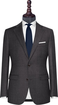 InStitchu Collection The Naples Grey Textured Wool Jacket