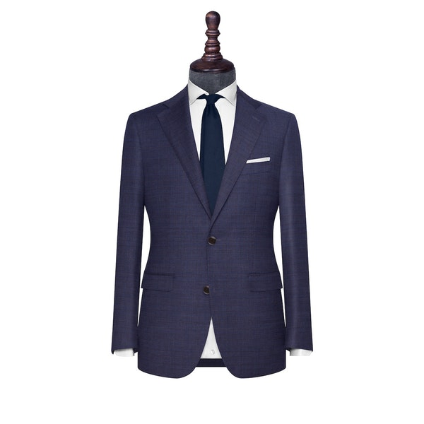 InStitchu Collection The Oxley Navy Wool Jacket