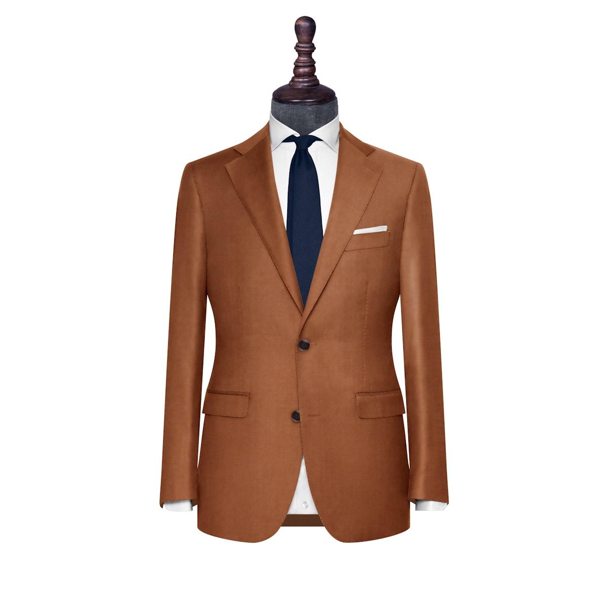 InStitchu Collection The Scafatti Rust Orange Wool Jacket