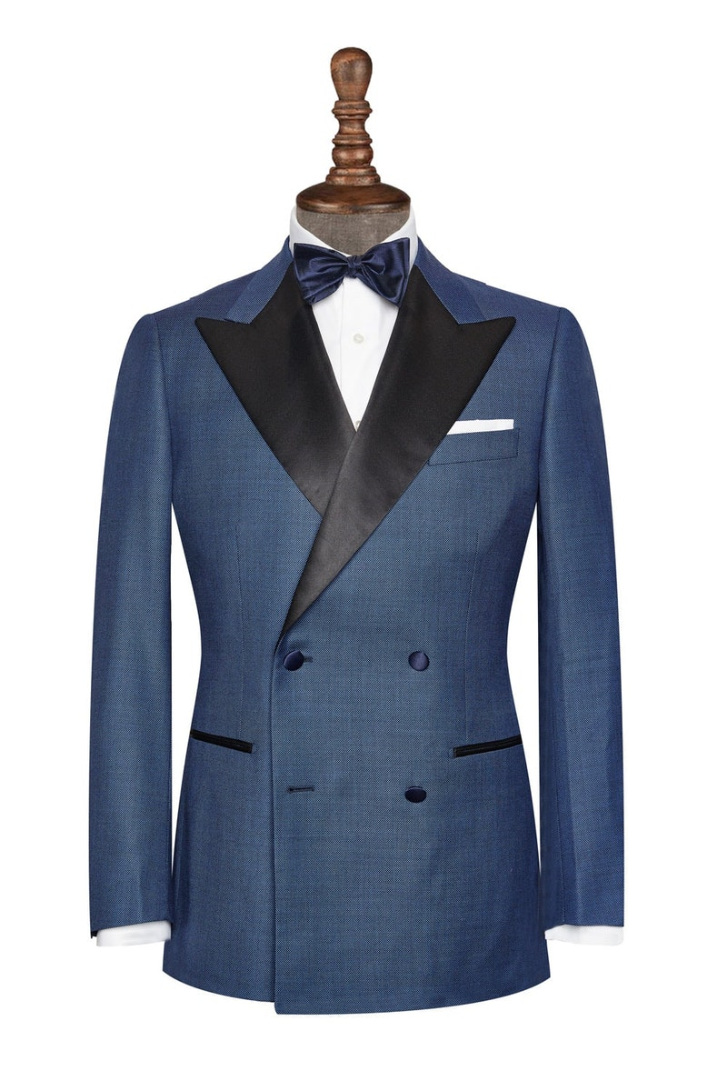 InStitchu Collection The Southport Navy Tuxedo Jacket