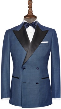 InStitchu Collection The Southport Navy Tuxedo Jacket