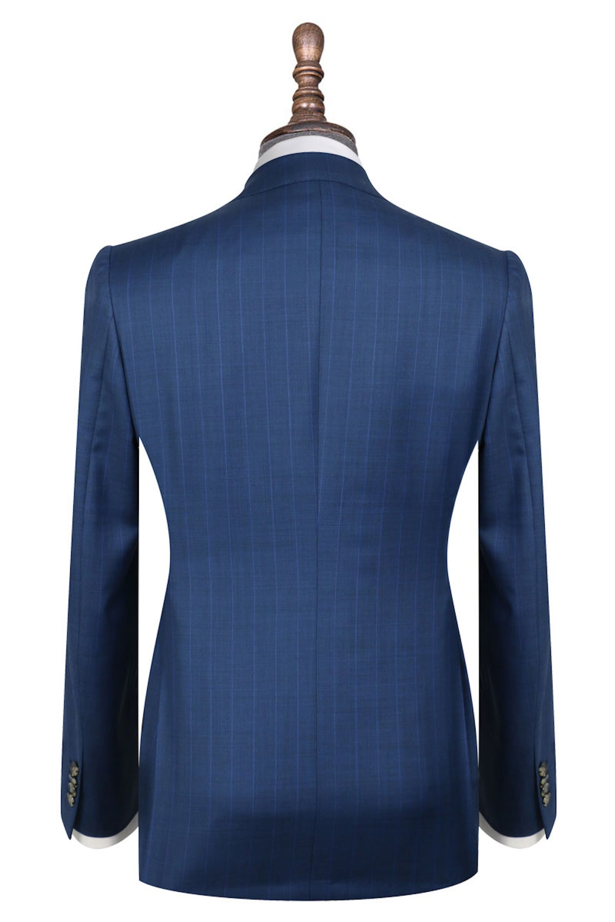 InStitchu Collection The Totti Blue Wool Jacket