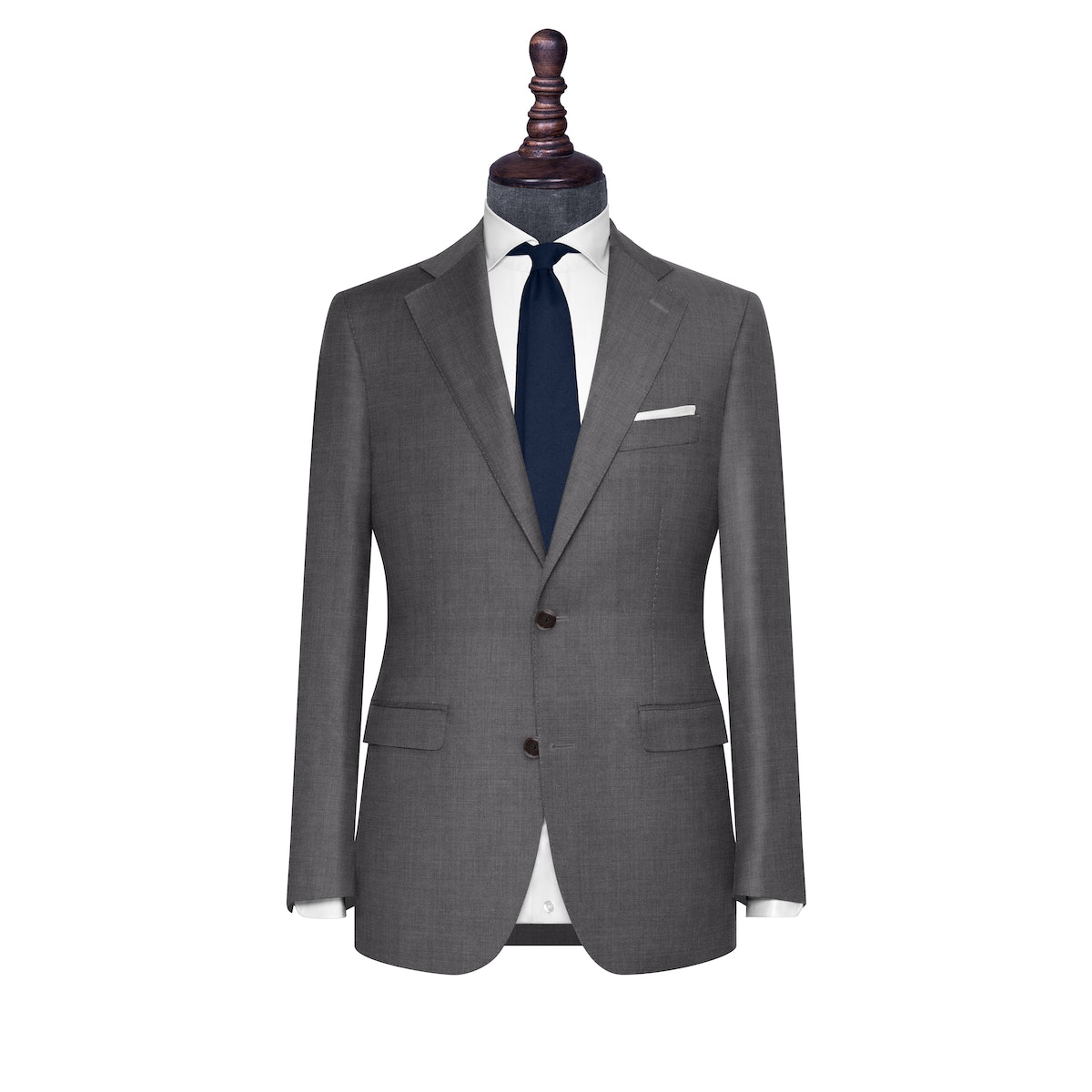 InStitchu Collection The Turin Grey Wool Jacket