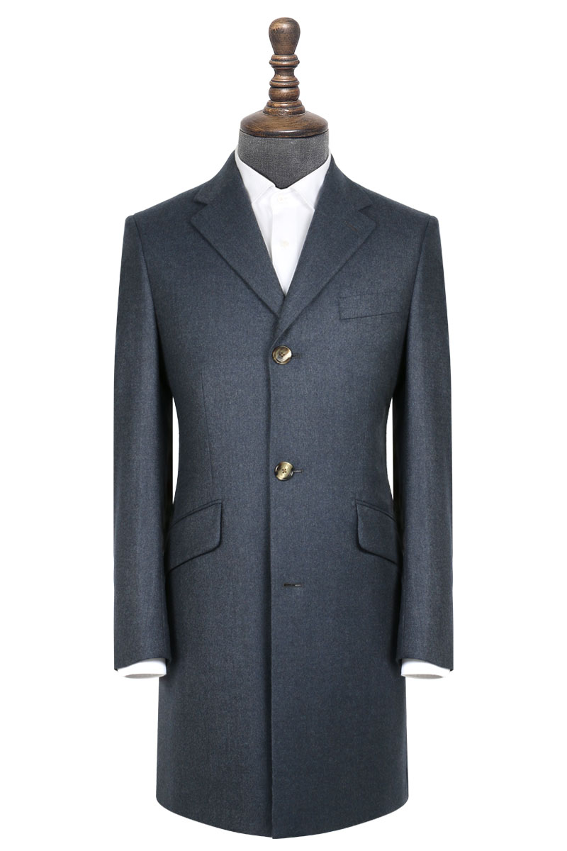 InStitchu Deep Blue Overcoat