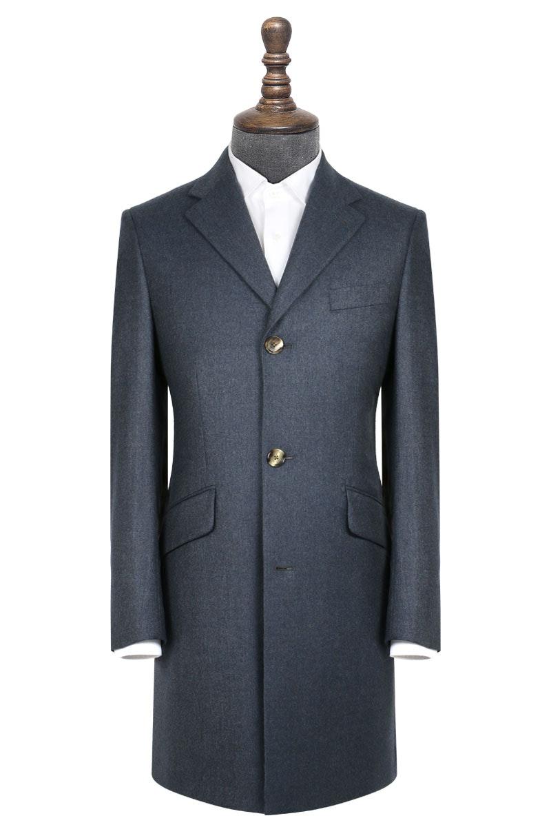 InStitchu Deep Blue Overcoat