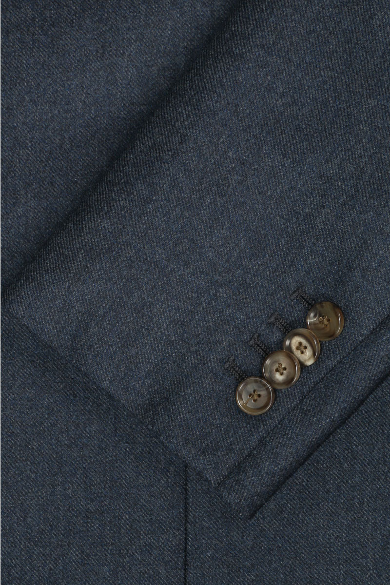 InStitchu Deep Blue Overcoat Sleeve
