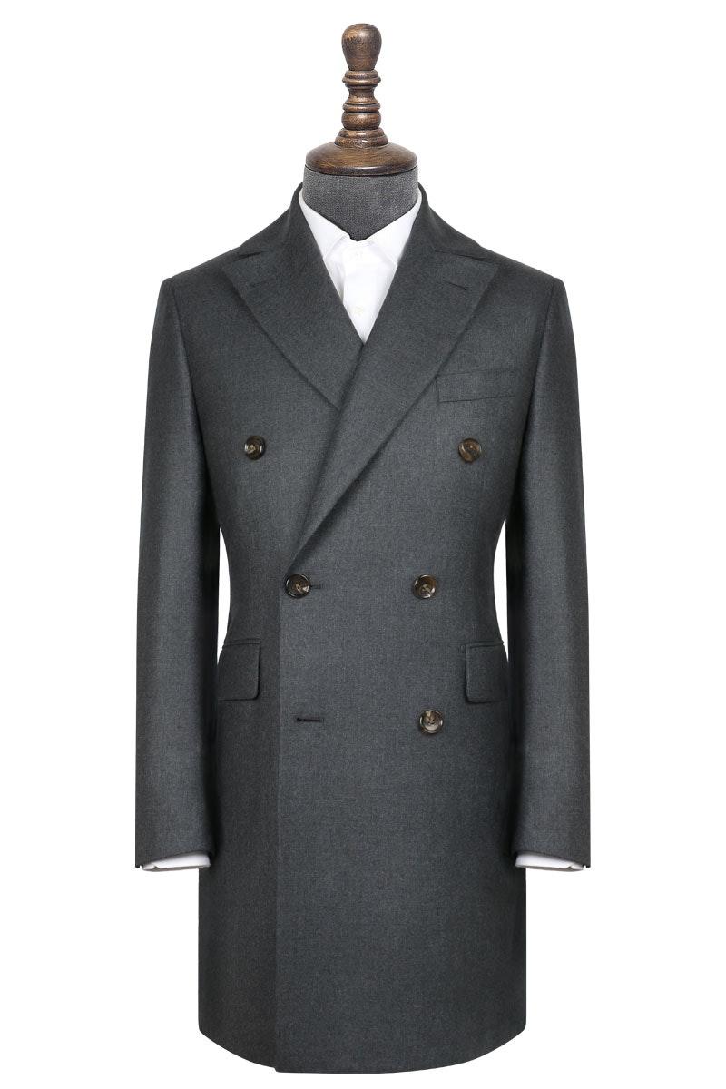 InStitchu Deep Grey Overcoat