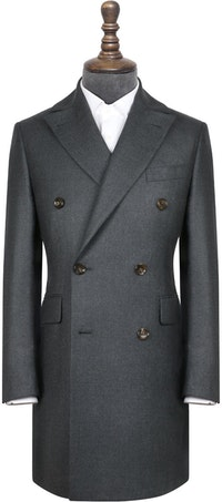 InStitchu Deep Grey Overcoat