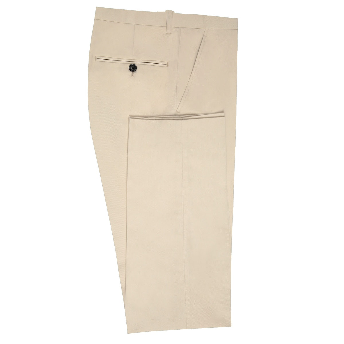 InStitchu Collection Classic Ivory Chinos