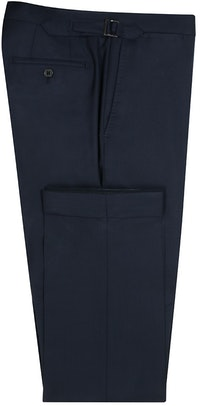 InStitchu Collection Adams Navy Wool Pants