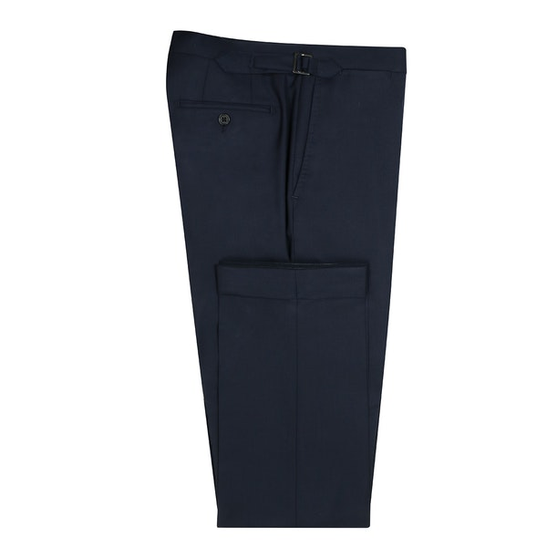 InStitchu Collection Andrade Navy Wool Pants