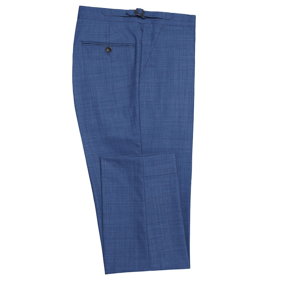 InStitchu Collection Bengal Blue Wool Pants