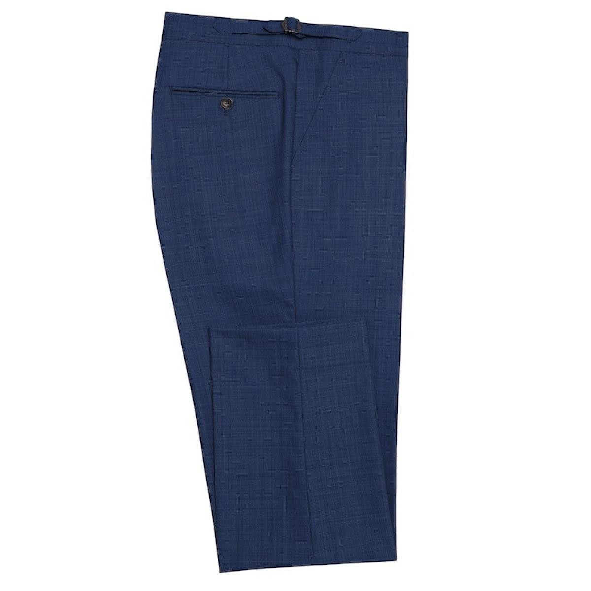 InStitchu Collection Bushelman Blue Wool Pants