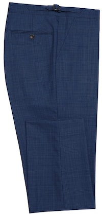 InStitchu Collection Bushelman Blue Wool Pants