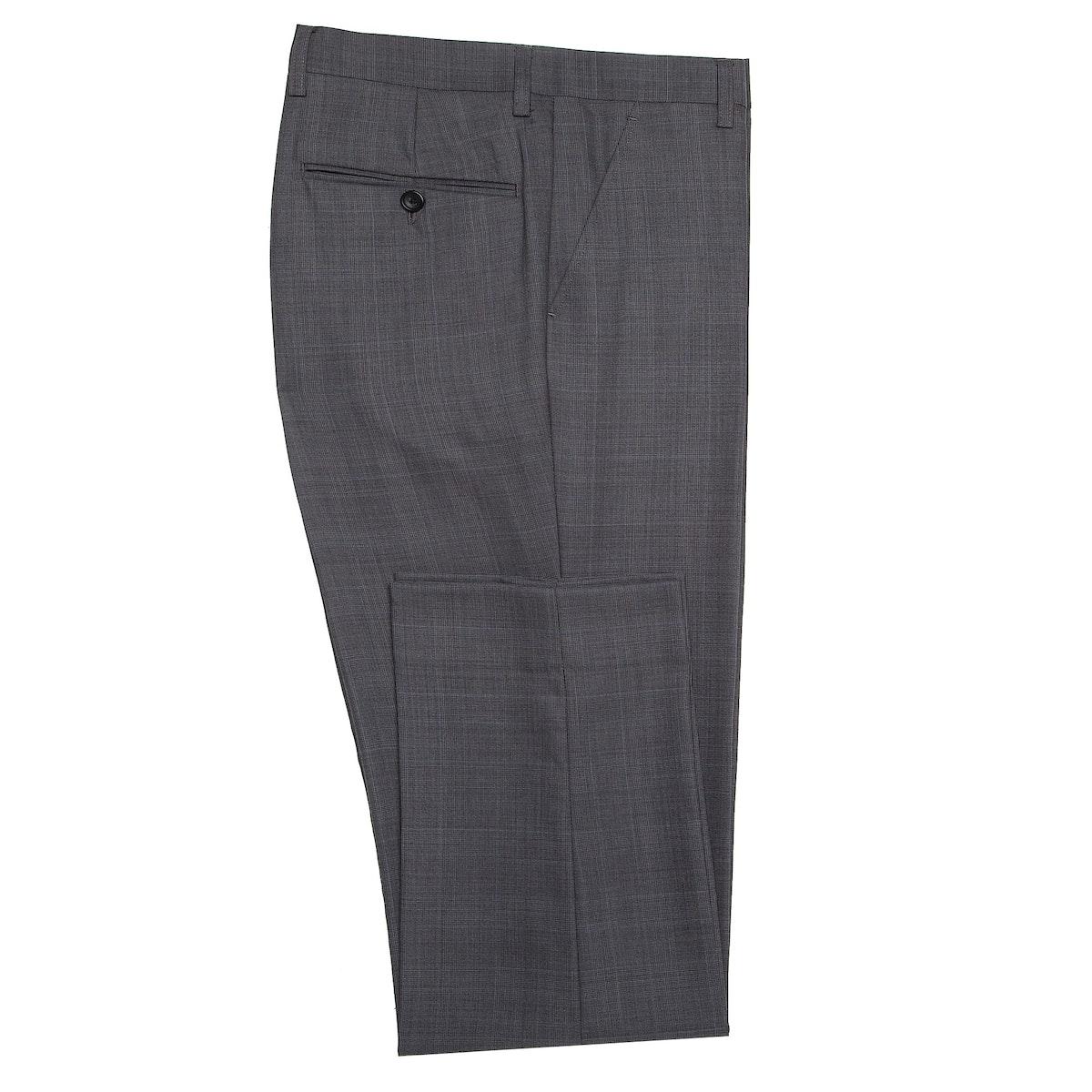 InStitchu Collection Carnwath Grey Glen Plaid Wool Pants
