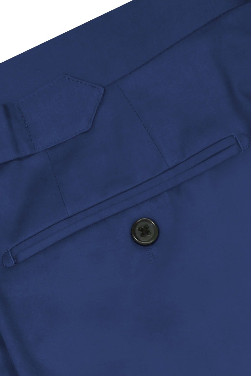 InStitchu Collection Clover Blue Wool Pants