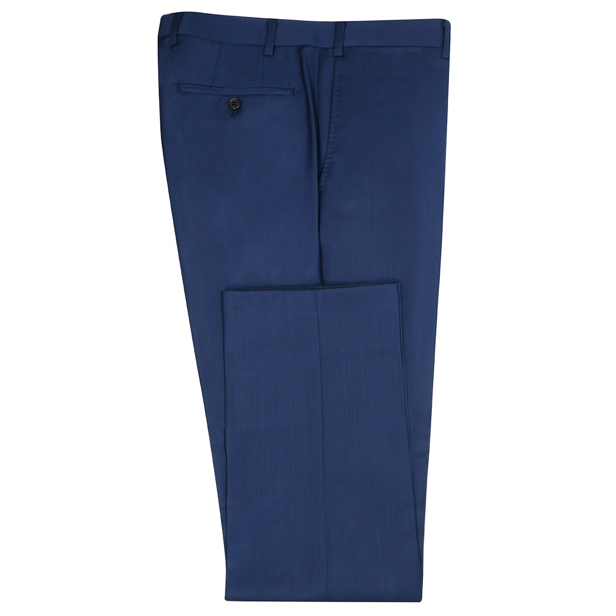 InStitchu Collection Donegal Blue Wool Pants