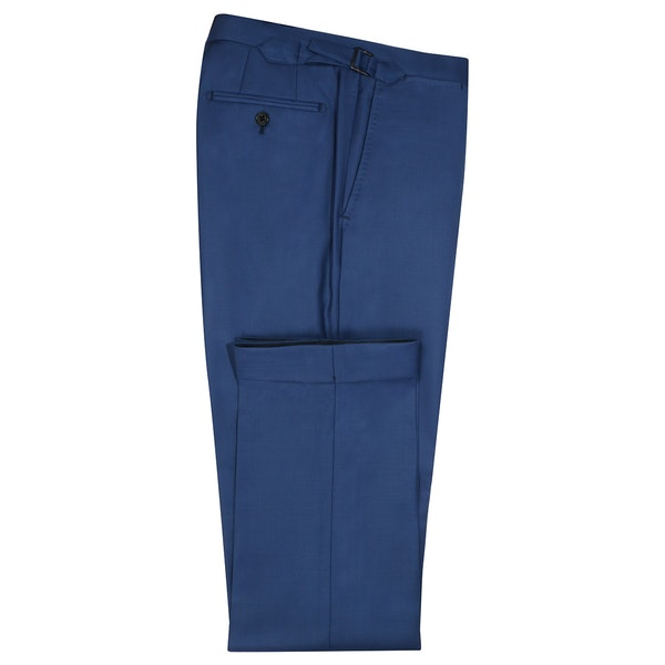 InStitchu Collection Dove Blue Wool Pants