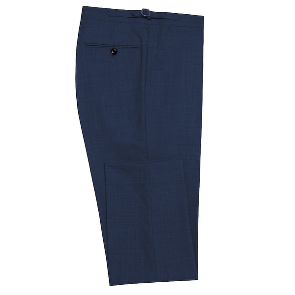 InStitchu Collection Harris Navy Wool Pants