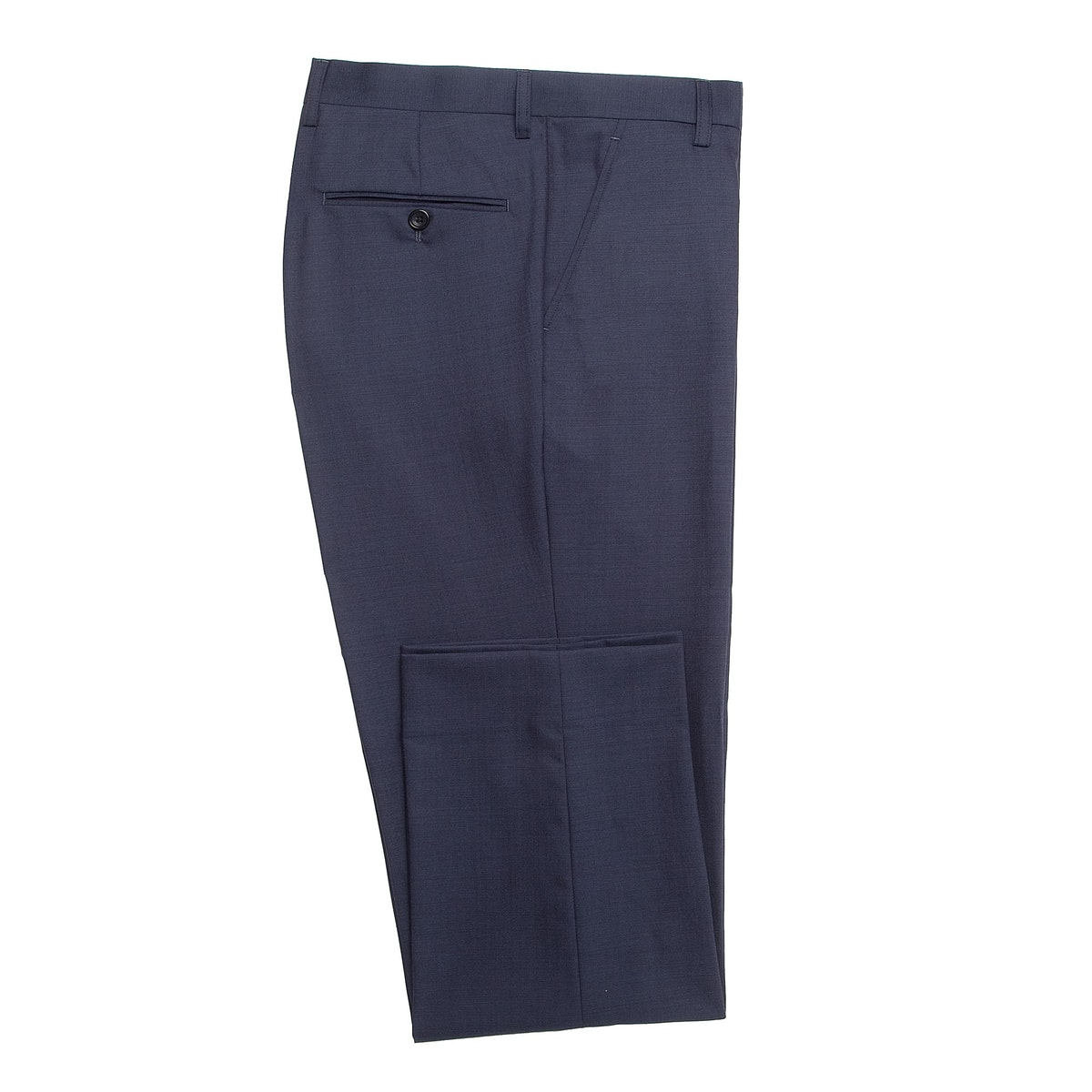 InStitchu Collection Hordern Blue Wool Pants