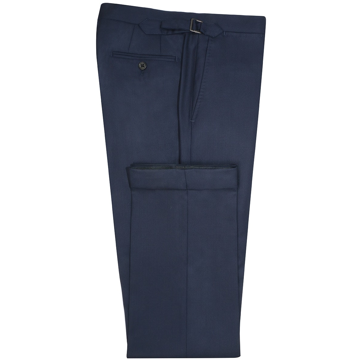InStitchu Collection Miller Navy Nailhead Wool Pants