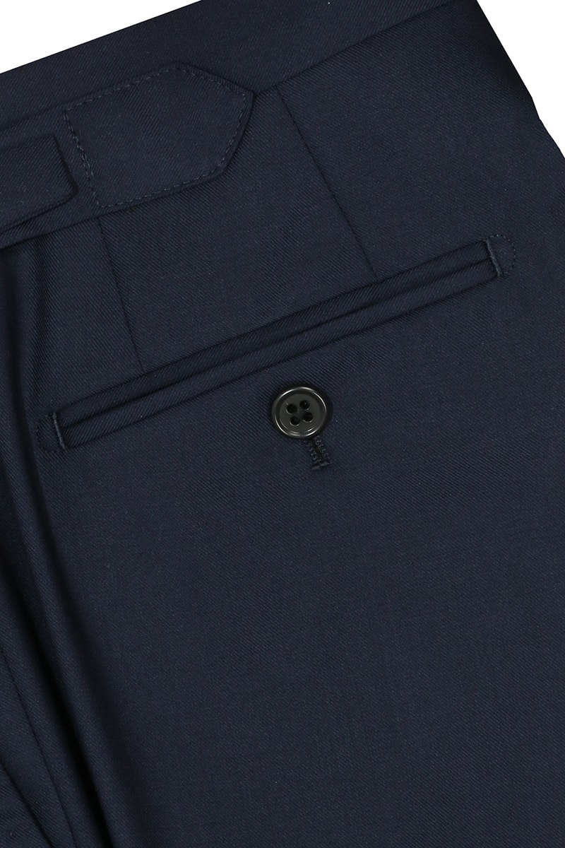InStitchu Collection Powls Navy Wool Pants