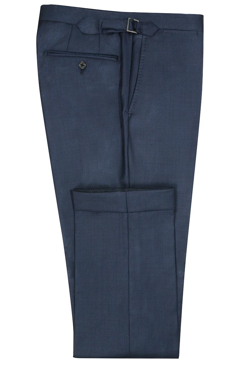 InStitchu Collection Rigby Navy Birdseye Pants