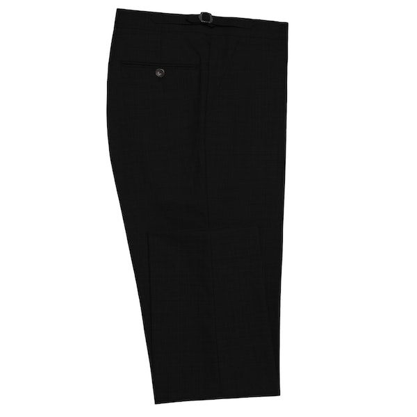 InStitchu Collection Robertson Black Wool Pants