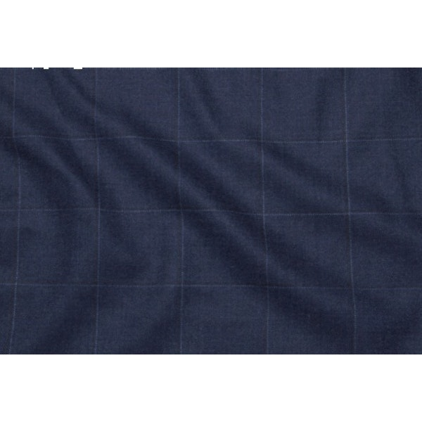InStitchu Collection Rollino Blue Wool Pants 3
