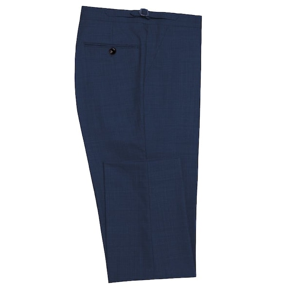 InStitchu Collection Sherry Navy Wool Pants