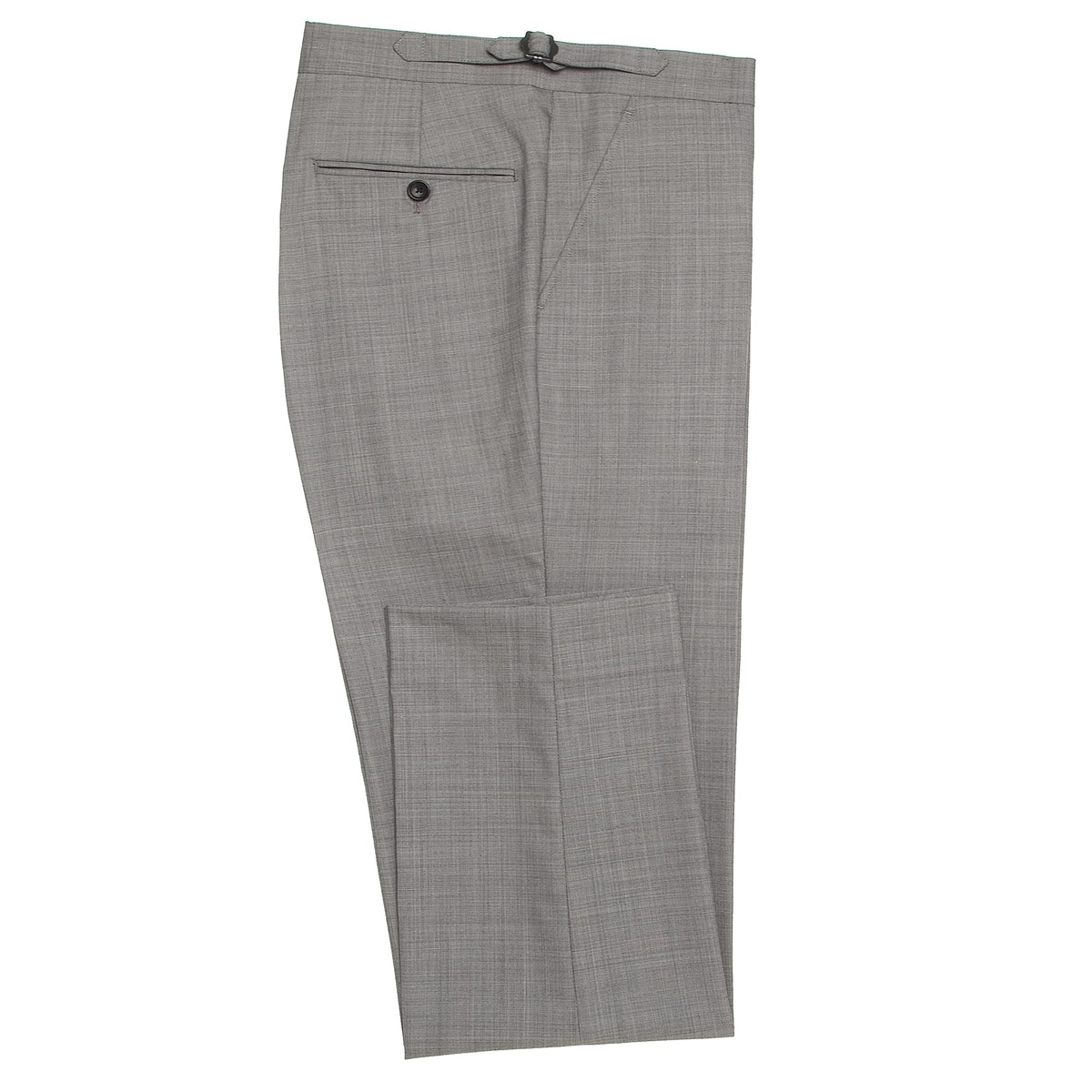 InStitchu Collection Spade Grey Wool Pants