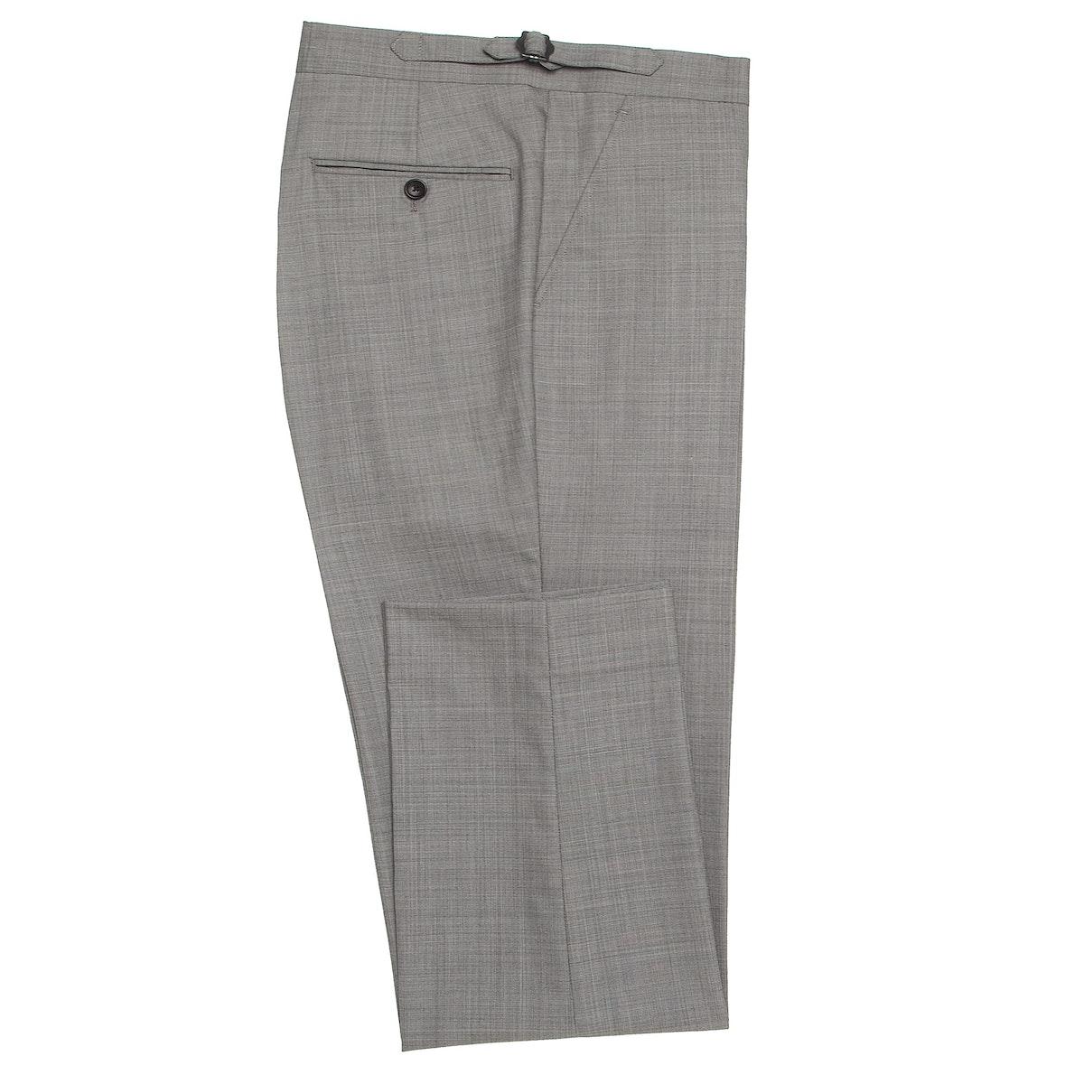InStitchu Collection Spade Grey Wool Pants