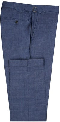 InStitchu Collection Stubbs Blue Glen Plaid Wool Pants