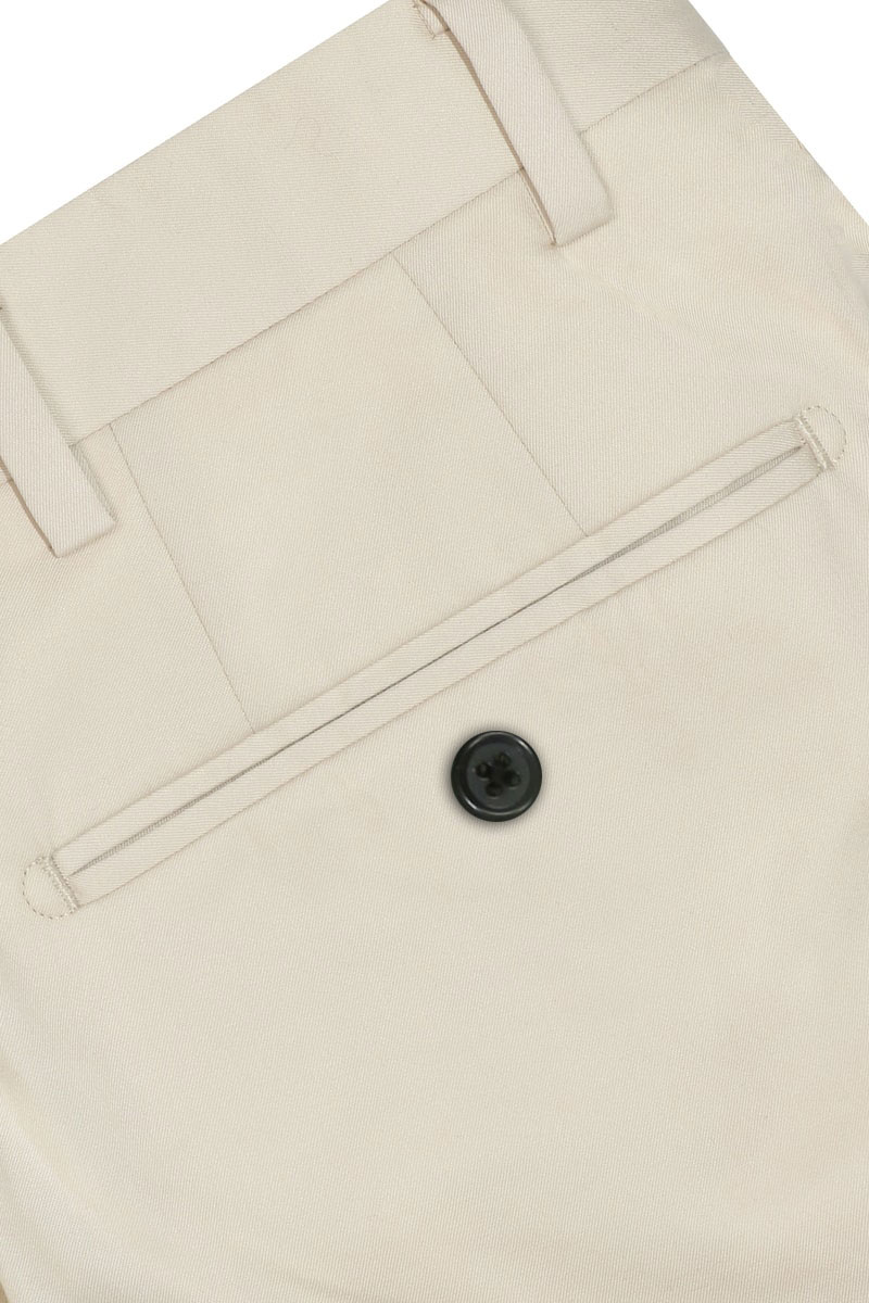 InStitchu Collection The Altona Beige Cotton Chinos