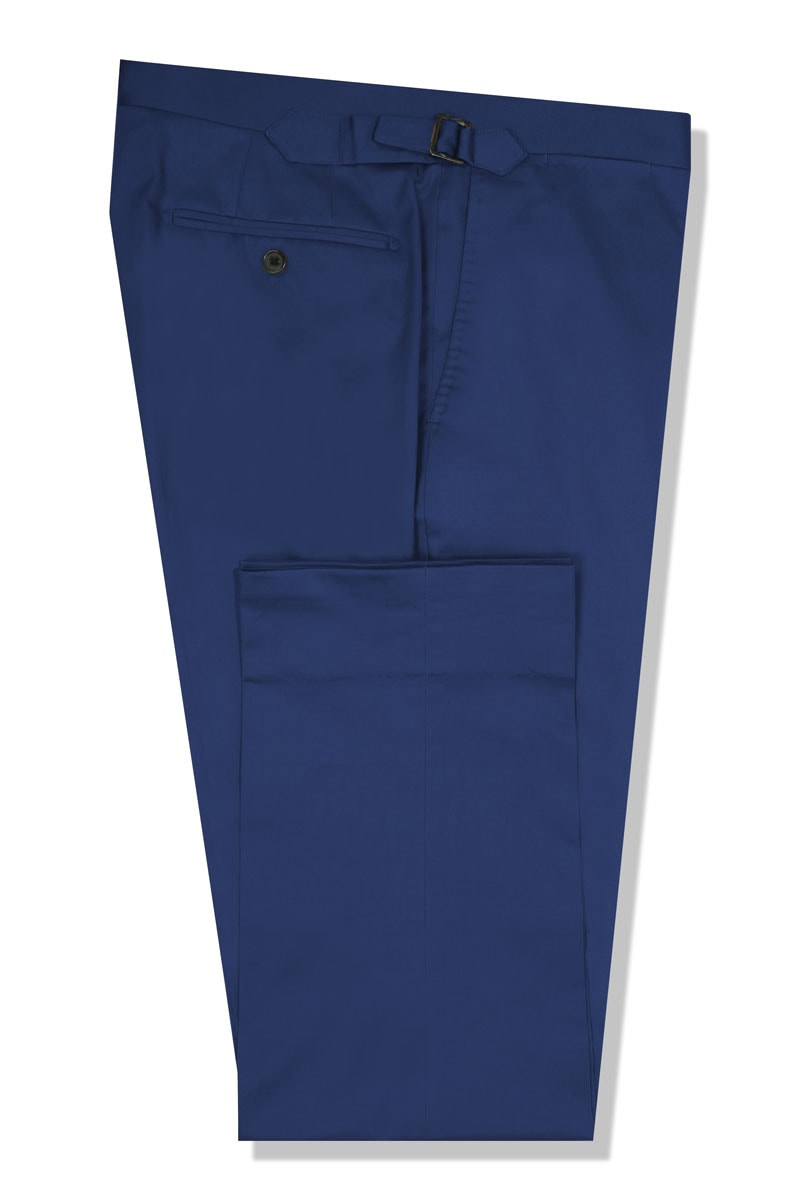 InStitchu Collection The Barnard Royal Blue Cotton Chinos