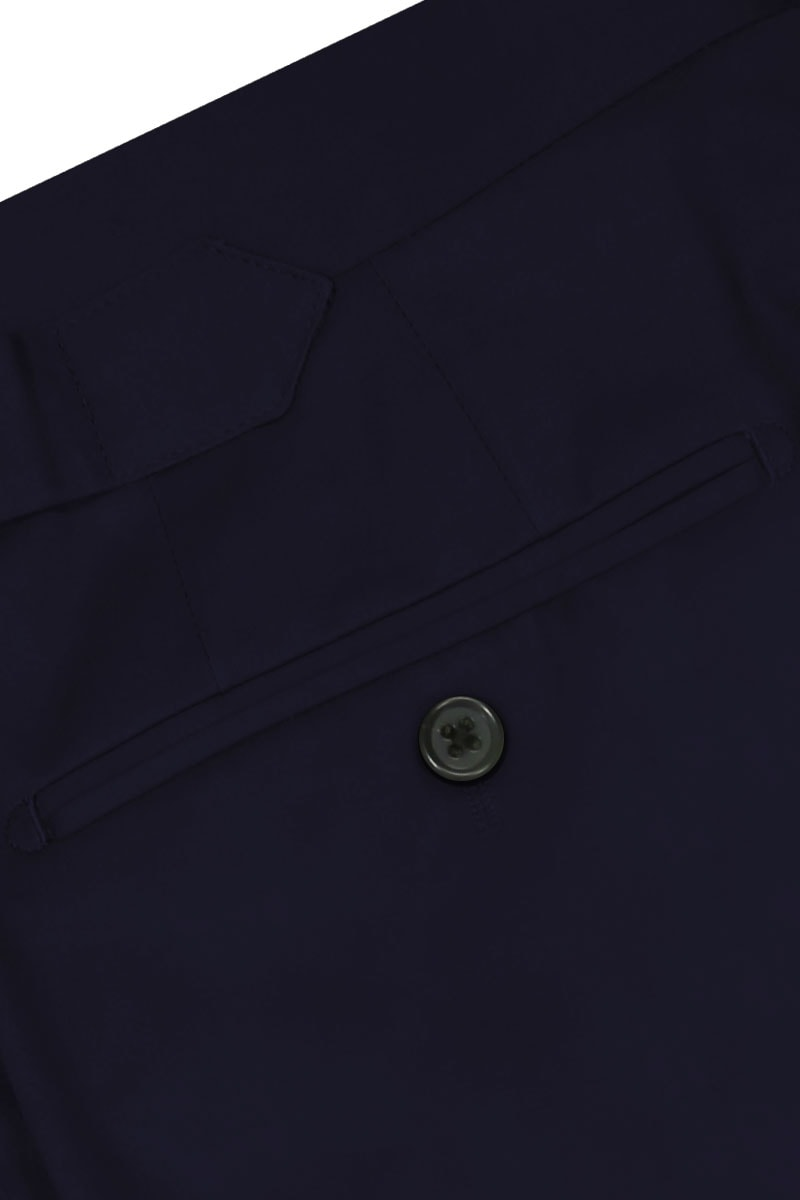 InStitchu Collection The Barrington Navy Cotton Stretch Chinos
