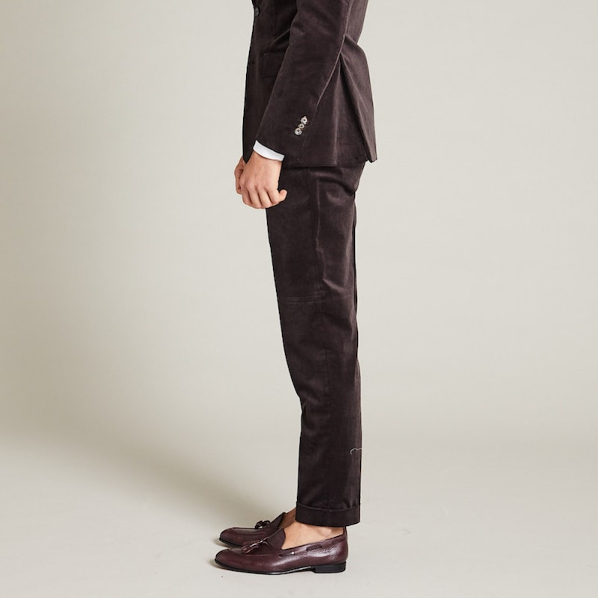 InStitchu Collection The Bates Brown Corduroy Pants