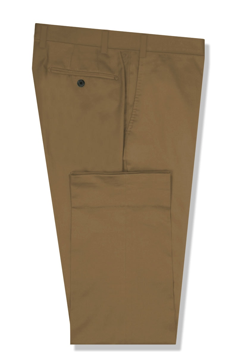 InStitchu Collection The Berkeley Brown Cotton Chinos