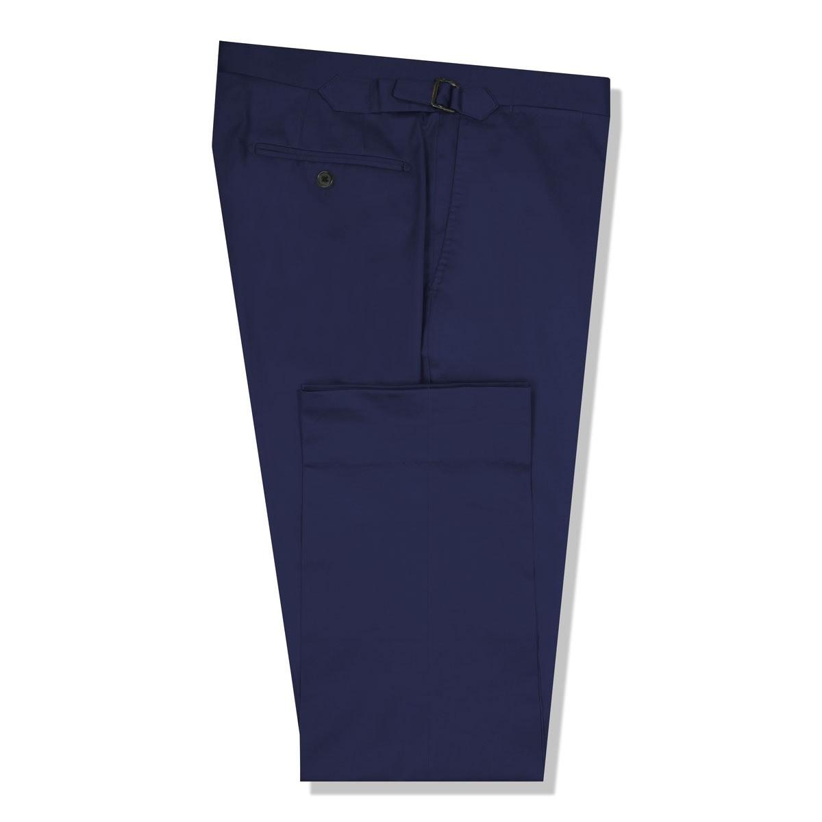 InStitchu Collection The Bronson Dark Blue Cotton Chinos