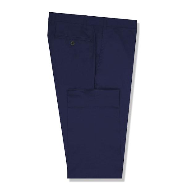 InStitchu Collection The Burke Dark Blue Cotton Chinos
