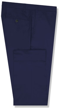 InStitchu Collection The Burke Dark Blue Cotton Chinos