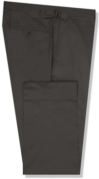InStitchu Collection The Cooper Dark Grey Cotton Chinos