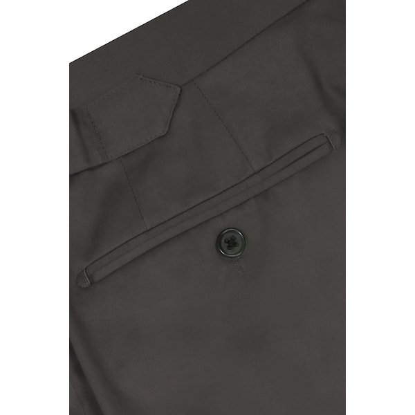 InStitchu Collection The Cooper Dark Grey Cotton Chinos