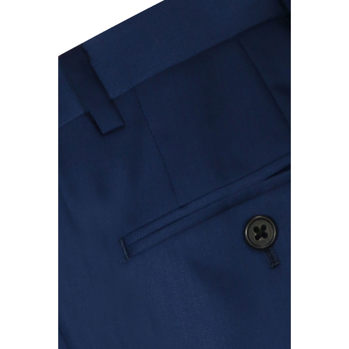 InStitchu Collection The De Rossi Navy Blue Wool Pants