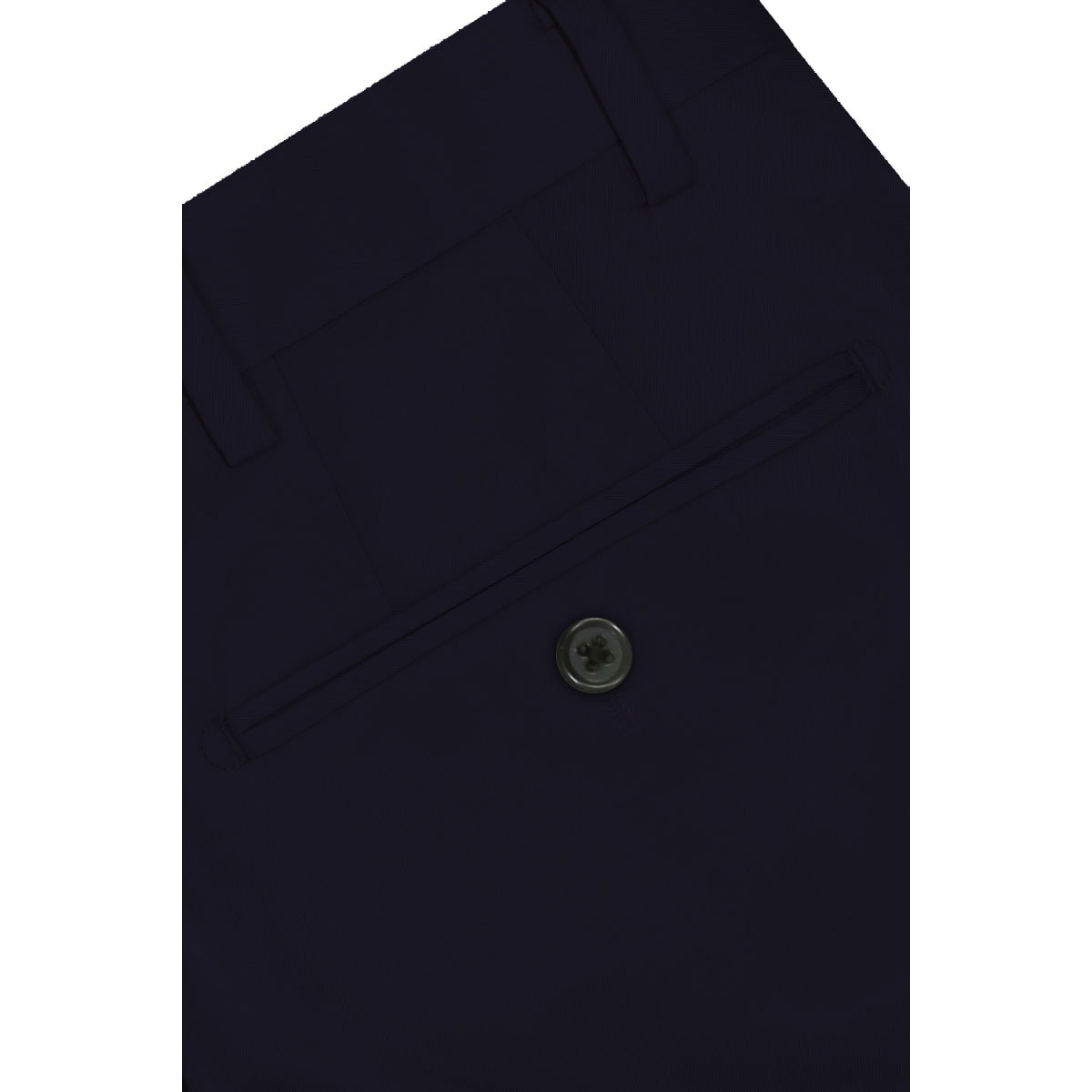 InStitchu Collection The Derrida Navy Cotton Stretch Chinos