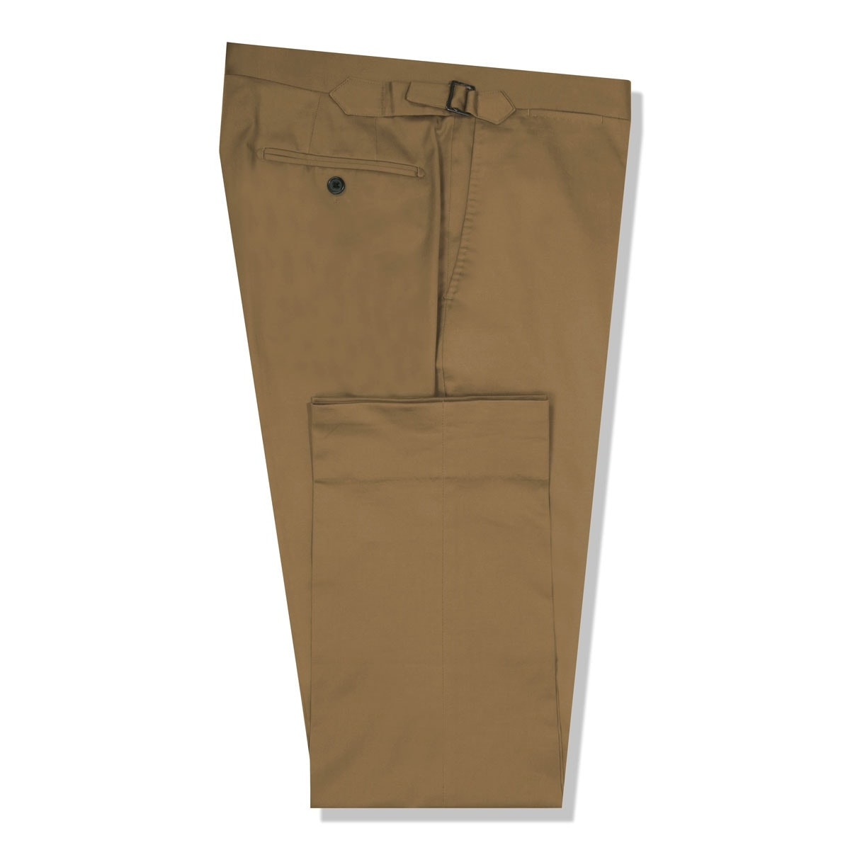 InStitchu Collection The Ellenborough Brown Cotton Chinos