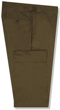 InStitchu Collection The Georges Dark Khaki Cotton Chinos